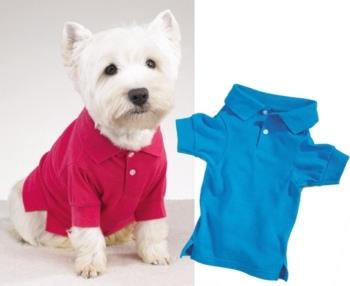 Camiseta Polo para perros
