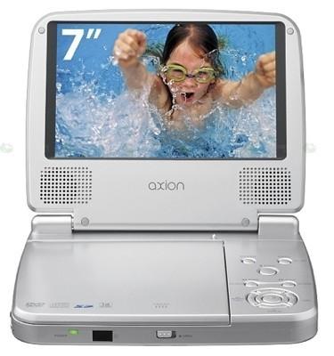Axion AX6705D, reproductor portátil de DVD