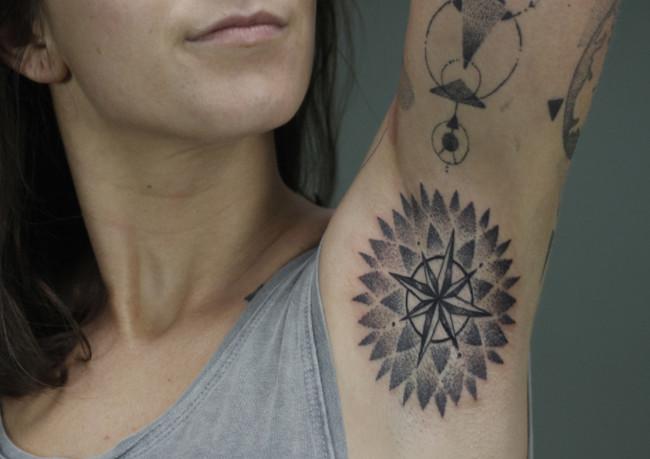 Tatuajes Axilas