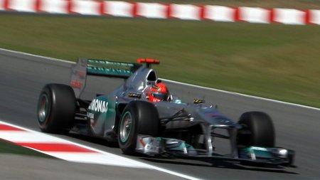 GP de España F1 2011: Michael Schumacher cree que Mercedes puede llegar a la tercera fila de parrilla