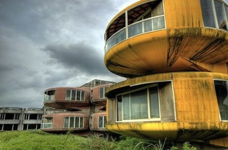 San Zhi: una ciudad abandonada de ciencia ficción