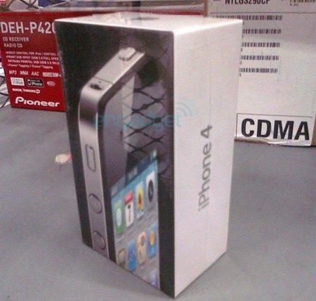 Primeras unidades del iPhone 4 en Walmart