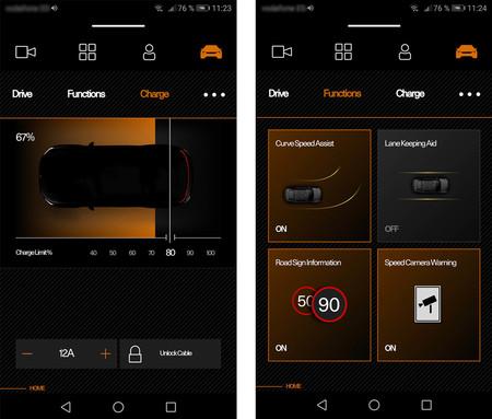 Android Auto Polestar
