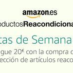 En Amazon, 20 euros de descuento por compras superiores a 100 euros en reacondicionados