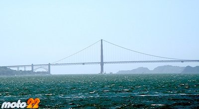 En moto por el Oeste Norteamericano (17 y última): De nuevo, el Golden Gate