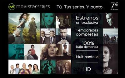 Movistar Series costará 7 euros al mes y sólo estará disponible para abonados a Movistar TV