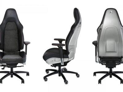 Nunca pensaste que podrías trabajar tan rápido: con esta silla Porsche bajarás muchos segundos