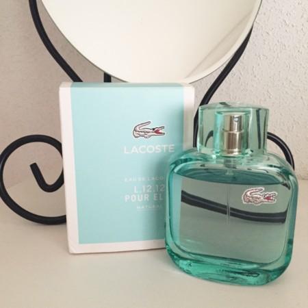 Probamos Eau de Lacoste L.12.12 Pour Elle Natural, mi nueva fragancia de verano