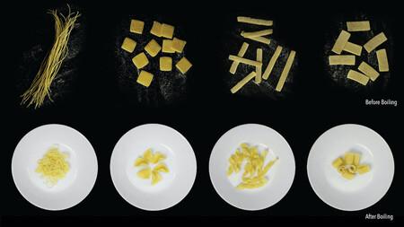 Científicos crean una pasta que cambia de forma al cocinarse para obtener un enpaquetado sostenible y una cocina más ecológica