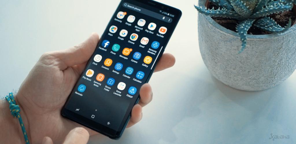 Samsung Galaxy Note 8 rendimiento