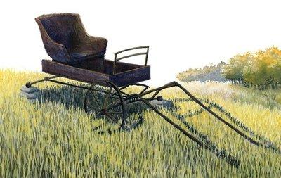 'El viento comenzó a mecer la hierba', un libro ilustrado de Emily Dickinson
