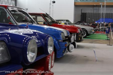 Los Renault 5 lucen parrilla