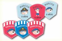 Etiquetas personalizadas para la fiesta de cumple de tu peque