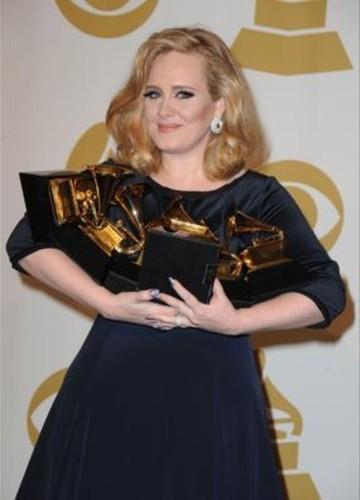 Adele multigrammy winner