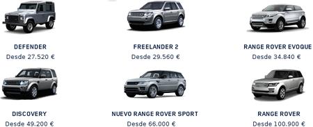 Land Rover basará su gama en tres líneas: Defender, Discovery y Range Rover