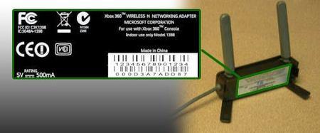 El nuevo adaptador Wi-Fi de Xbox 360 se lanzará en EE.UU. el 3 de noviembre