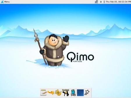 Qimo: un SO basado en Linux para los pequeños de la casa