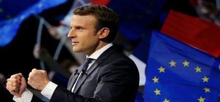 Macron, el gran favorito para la segunda vuelta, llena de euforia a los mercados