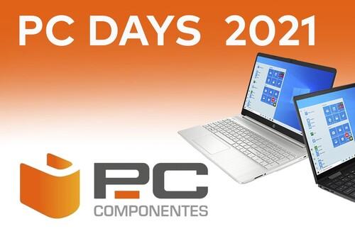 PC Days 2021: PcComponentes tiene portátiles de ASUS, Dell, HP, Lenovo, MSI o Microsoft a los mejores precios del verano con descuentos de hasta el 44%