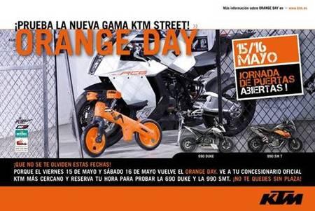 Vuelve el Orange Day, 15 y 16 de mayo