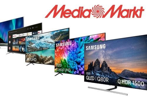 Smart TVs Samsung, Xiaomi y TCL con hasta 300 euros de descuento y financiación gratis en el Plan Renove de MediaMarkt