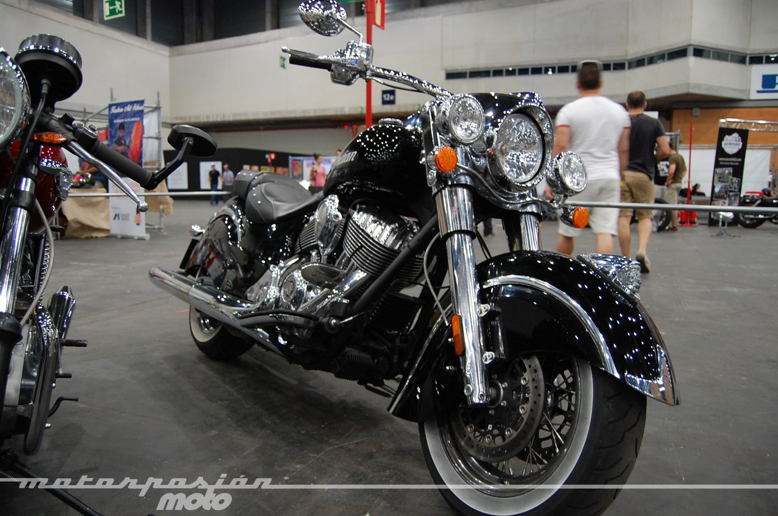 Foto de Mulafest 2014, exposición de motos clásicas (1/35)
