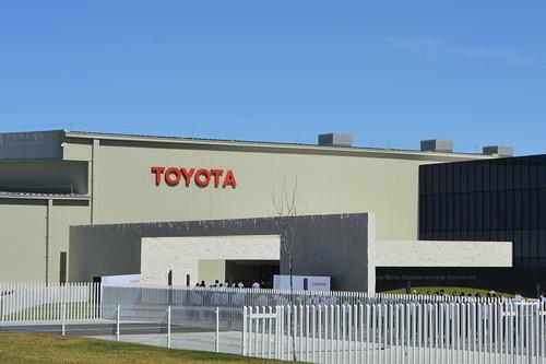Toyota inaugura su nueva fábrica en Guanajuato, la segunda de la marca en México