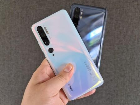 Xiaomi Mi Note 10 Primeras Impresoines Mexico Diseno Posterior
