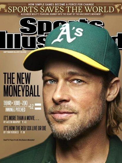 Brad Pitt y el béisbol, amigos quieran o no quieran