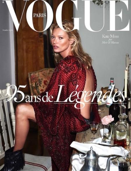 Vogue Paris (II): Kate Moss