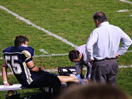 Qué hacer inmediatamente después de sufrir una lesión