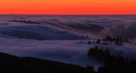 Time lapse: la famosa niebla de San Francisco