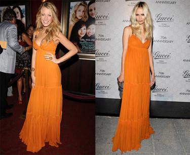 Maxivestido de Gucci: ¿Blake o Natasha?