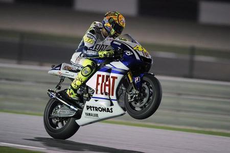 MotoGP Qatar 2010: Valentino Rossi comienza 2010 con una merecida victoria
