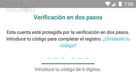 Google quiere cambiar la verificación SMS en dos pasos una ventana de aviso