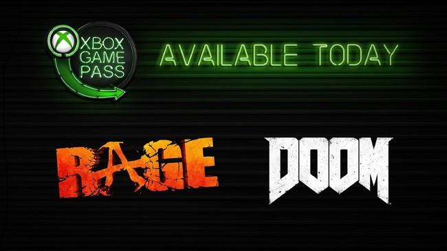 Xbox Game Pass Rage Doom