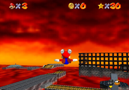 Super Mario 64 World7 Star4 02