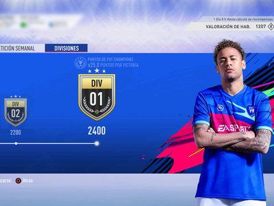 Guía FIFA 19. Division Rivals: valoraciones y recompensas del 8 al 15 de noviembre