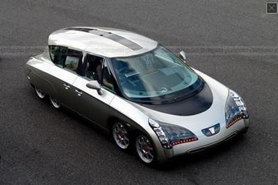 Eliica, el coche de calle eléctrico más rápido