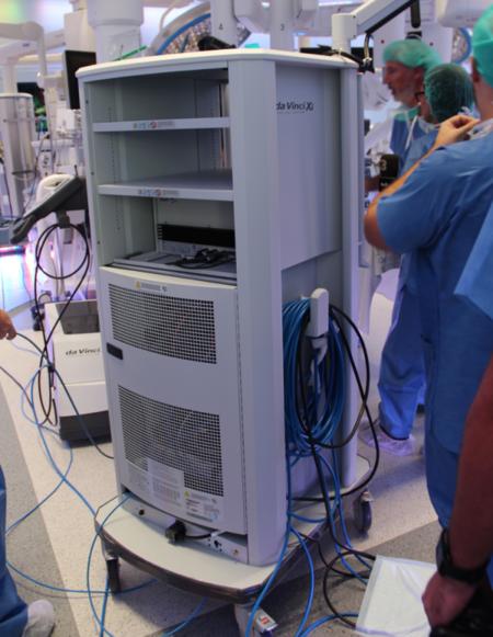 da vinci xi robot quirófano hospital