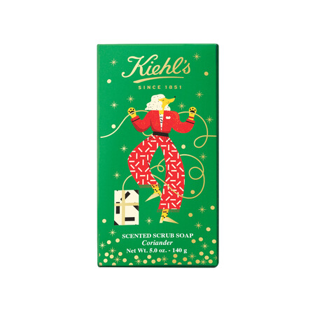 Kiehls Holiday 2020 Body Soap Scented Scrub Soap Coriander 150g 3605972414625 Front