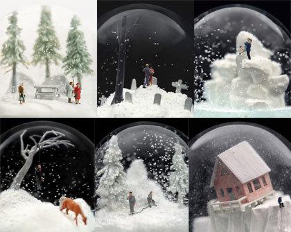 Mundos en miniatura, para soñar dentro del cristal