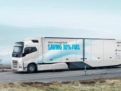 Volvo presenta un prototipo de camión que consume un 30% menos, pero no es suficiente