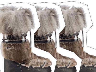 Clonados y pillados: ¡las moon boots de Jimmy Choo ya tienen su clon!
