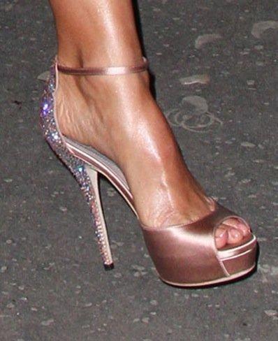 Jessica Alba zapatos