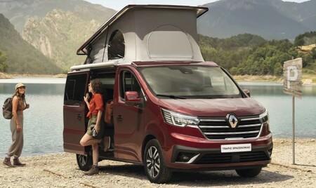 Renault Trafic SpaceNomad: así es la furgoneta camper del rombo que quiere plantar cara a la Volkswagen California