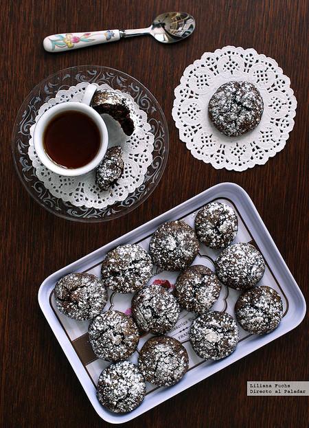 Galletas de chocolate negro y sirope dorado con jengibre: receta para el café