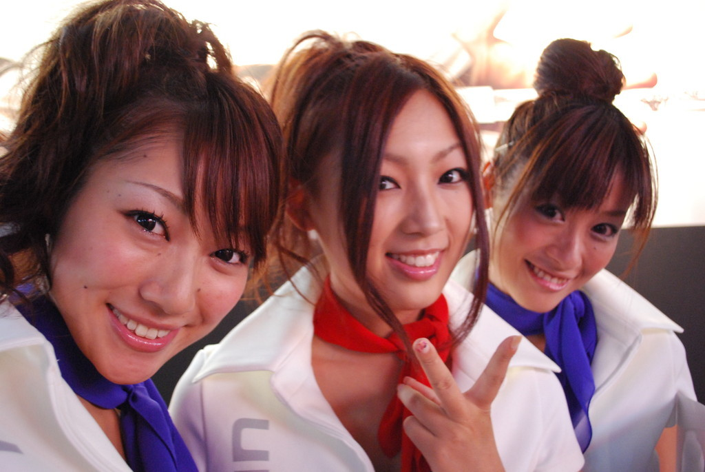 Chicas del Tokyo Game Show 2009