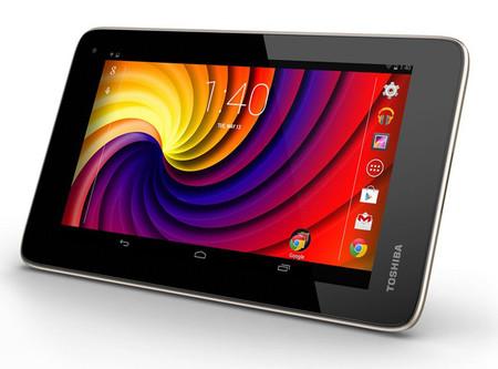 Toshiba Excite Go, así es el tablet más asequible de la firma