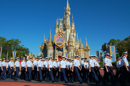 Coast Guard At Disney World 1078219